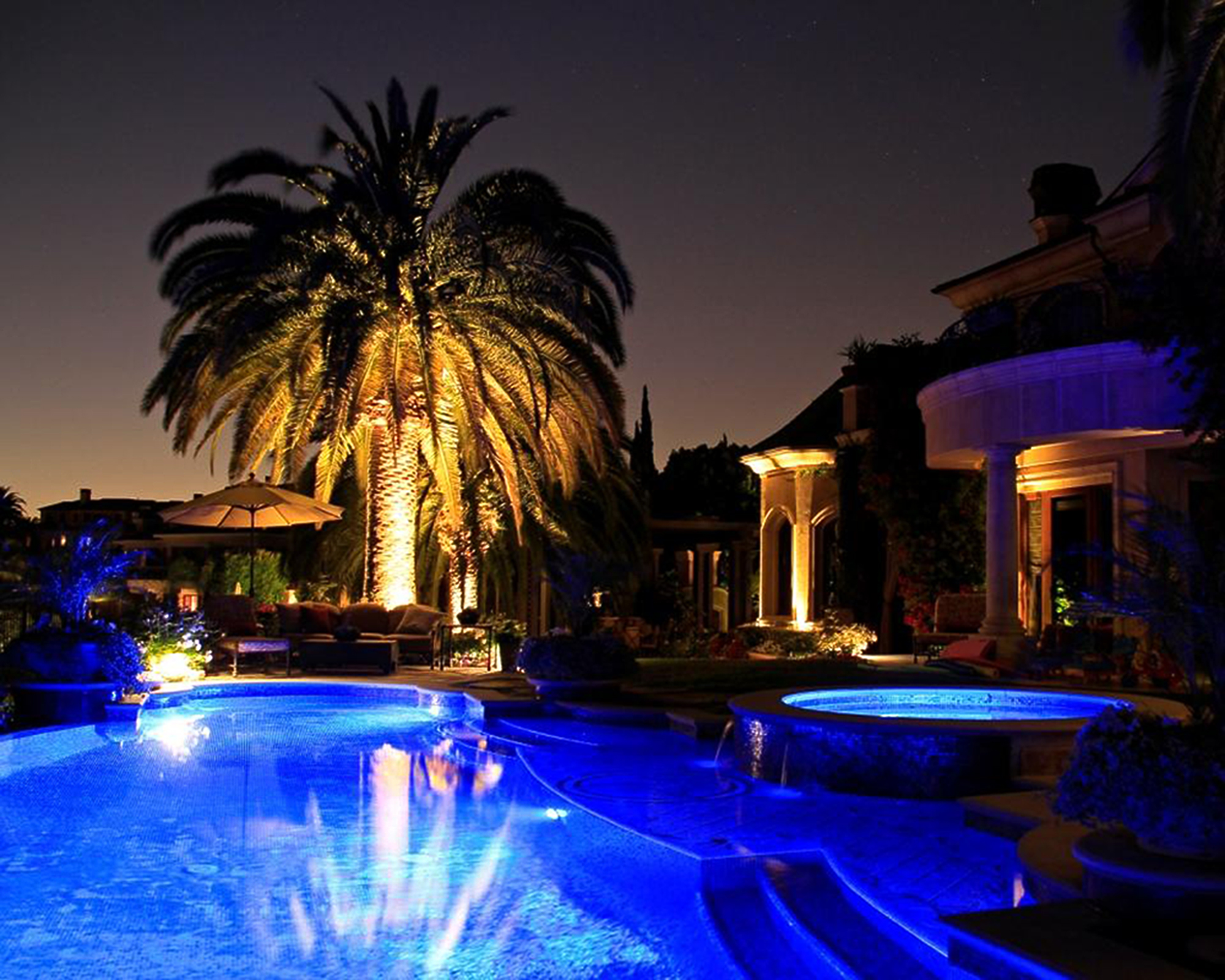visual aquatics the best in pool and spa lighting